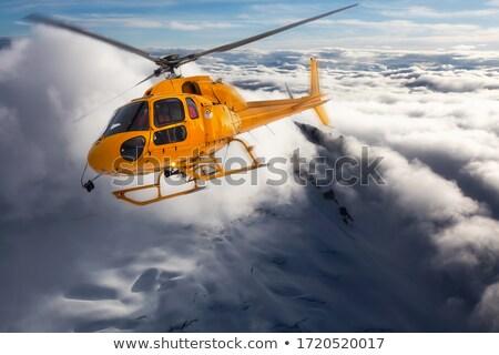 redding · helikopter · gedetailleerd · 3D · model - stockfoto © bsani
