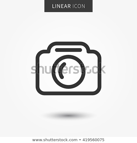 vector camera icons symbol about mobile device stock photo © thanawong