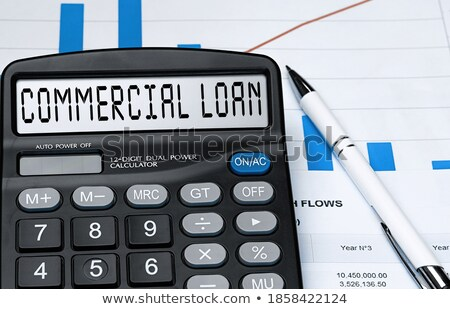 Calculator with the word loan on the display Stock photo © Zerbor