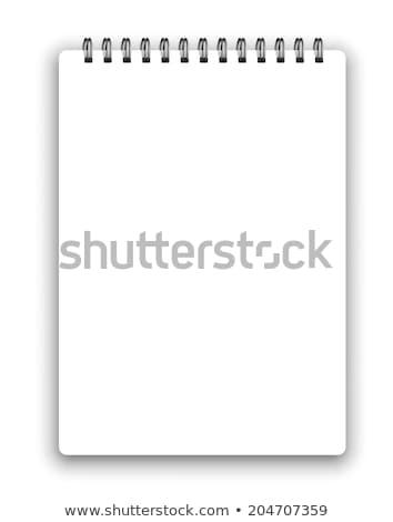 ベクトル · 帳 · テンプレート · 垂直 · 詳しい · することができます - ストックフォト © iunewind