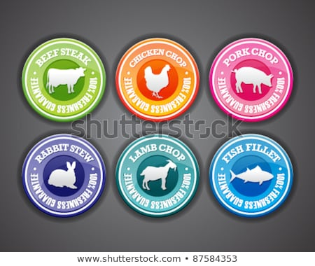 best quality purple vector icon button stock photo © rizwanali3d