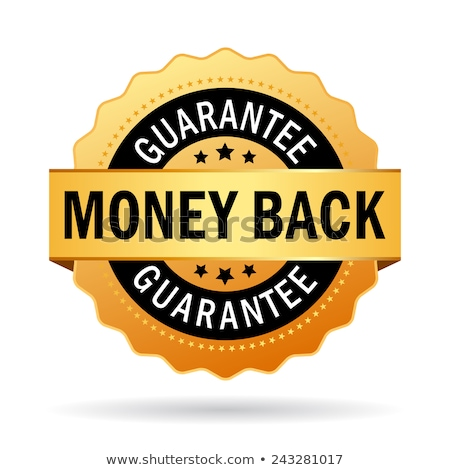 money back golden vector icon button stock photo © rizwanali3d