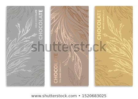Güzellik gümüş yaprak tüy görünür temizlemek Stok fotoğraf © lubavnel