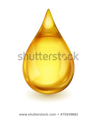 olio · drop · isolato · bianco · rendering · 3d · business - foto d'archivio © 3dart