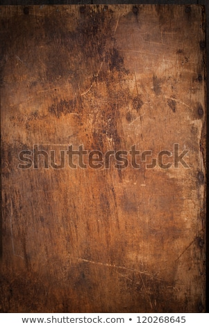 Old wood texture with rusty nails Stock photo © ozgur