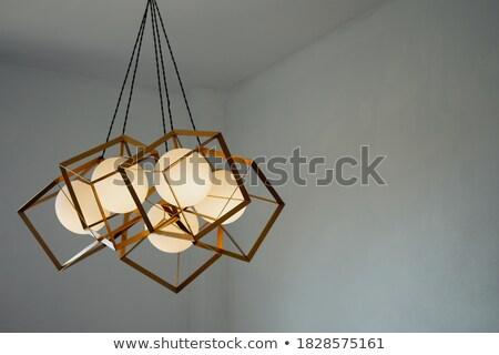 żyrandol wiszący sufit hotel domu Zdjęcia stock © art9858