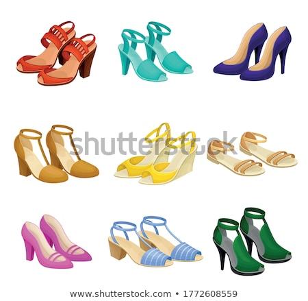 Women's sandals Stock photo © Valeriy