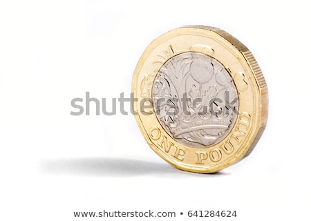 One pound coins Stock photo © chris2766