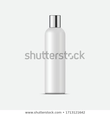 Parfüm gyönyörű üveg izolált fehér divat Stock fotó © tetkoren