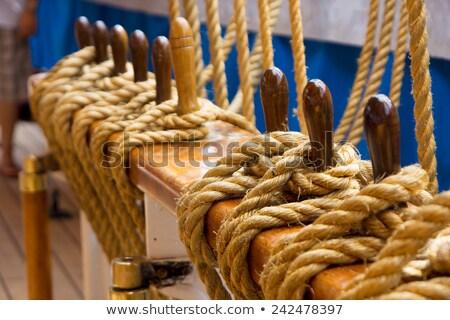 buque · objetos · mar · diseno · agua · madera - foto stock © jordanrusev