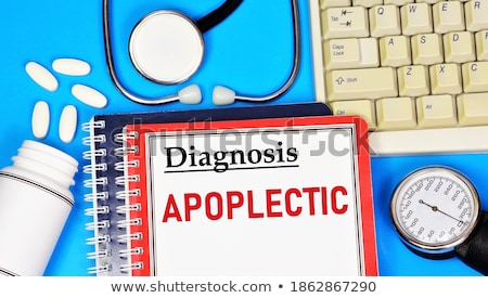 Diagnosis - Hypotension. Medical Concept. Stock photo © tashatuvango