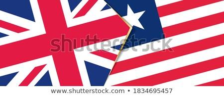 United Kingdom and Liberia Flags Stock photo © Istanbul2009