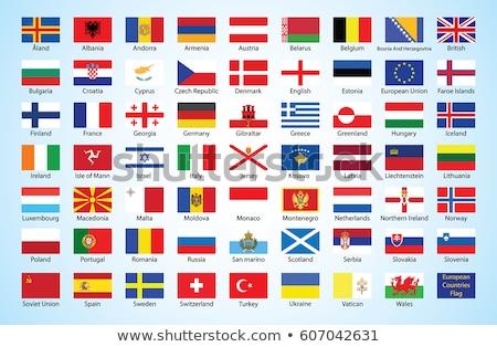 Turkije San Marino vlaggen puzzel geïsoleerd witte Stockfoto © Istanbul2009