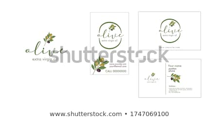 oil logo template Stock photo © tracer