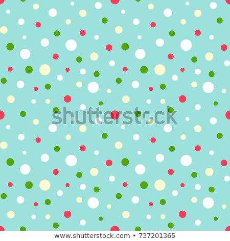 緑 水玉模様 クリスマス ボール グリッター 孤立した ストックフォト © plasticrobot
