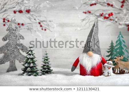 Christmas reindeer puppet Stock photo © adrenalina