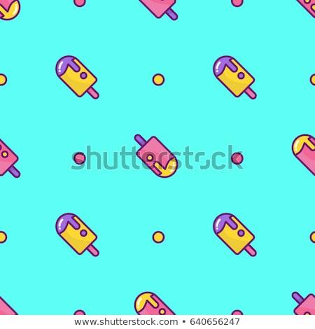 vetor · sem · costura · doce · padrão · colorido - foto stock © freesoulproduction