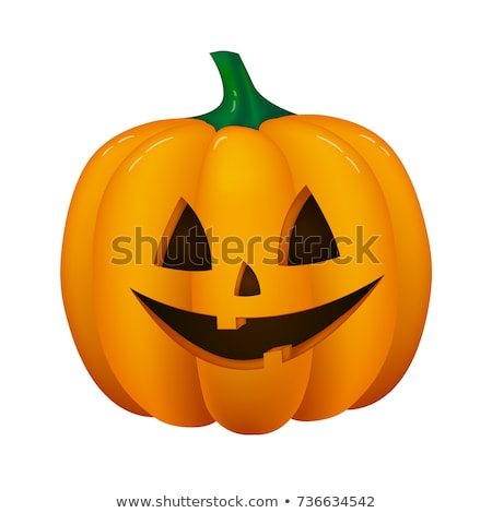 3d halloween background with scary jack o lantern stock photo © kjpargeter