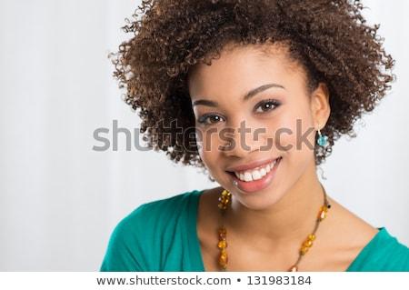 cabeça · ombros · nu · mulher · isolado - foto stock © deandrobot
