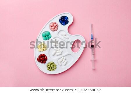 bianco · pillola · vaccino · medici · medicina · scienza - foto d'archivio © Samoilik