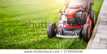 Stock photo: Mowing Machine