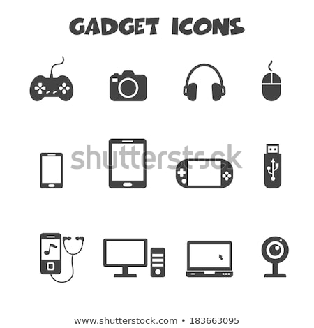 Mobile Gadgets Icon Stock photo © WaD