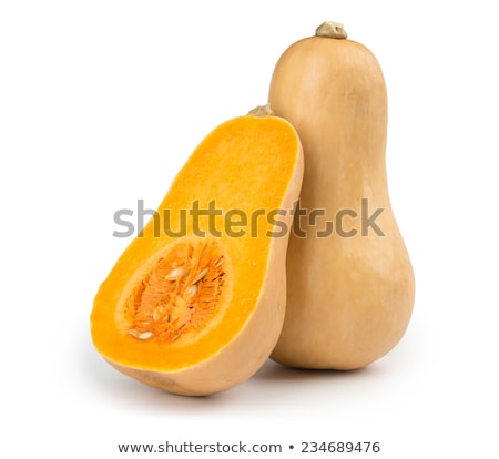 butternut squashes on white background Stock photo © shutswis