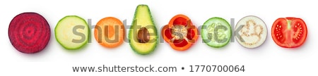 tabela · mercado · fresco · exibir · ninguém · close-up - foto stock © digifoodstock