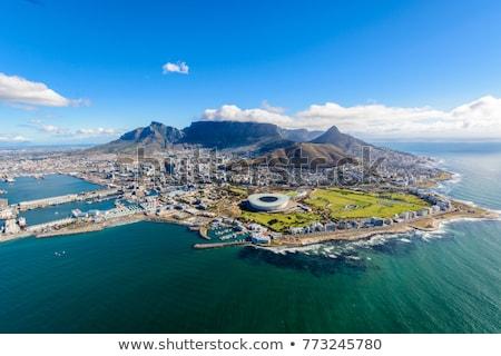 Cidade · do · Cabo · África · do · Sul · muitos · casas - foto stock © anna_om