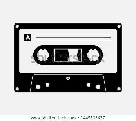 Retro terv öreg rádió zene háttér Stock fotó © bluering