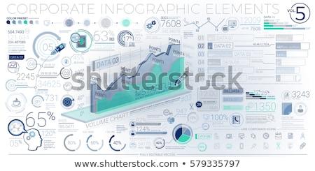 coloré · entreprise · ensemble · vert - photo stock © ConceptCafe
