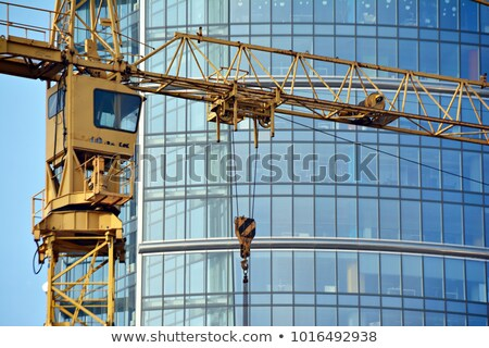 Close-up Construction Crane Stock photo © tracer