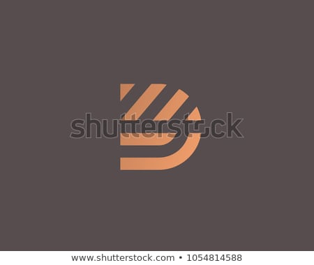 Letra d dedo ortografia alfabeto americano linguagem gestual Foto stock © Givaga