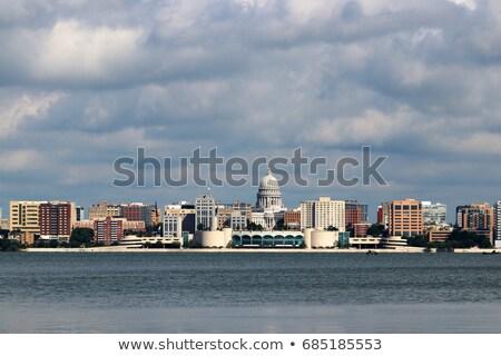 View across lake Stock photo © monkey_business