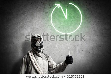 radioactive clock Stock photo © magann