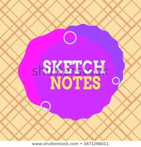 Excellence in Multicolor. Doodle Design. Stock photo © tashatuvango