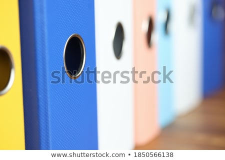 Stock photo: Income Concept. Folders in Catalog.