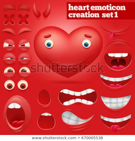 heart in anger Stock photo © Olena