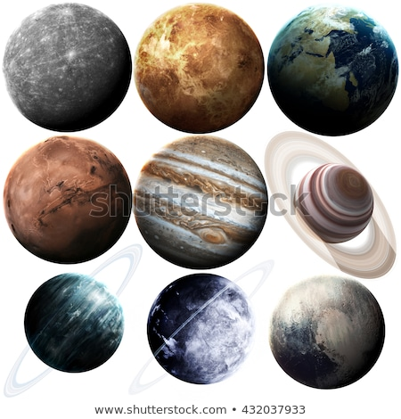 Solar System - Neptune. Isolated planet on white background. Stock photo © NASA_images