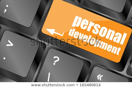 ノートパソコンのキーボード · 訓練 · ボタン · フォーカス - ストックフォト © tashatuvango