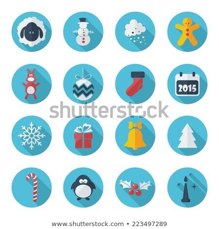 зима · Рождества · иконки · с · Новым · годом · праздник · коллекция - Сток-фото © cifotart