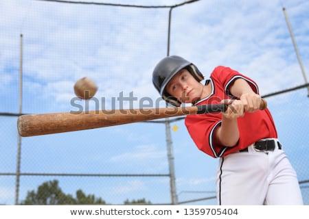 Boy playing baseball Stock photo © IS2