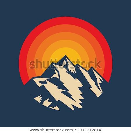 горные баннер пейзаж зеленый долины экспедиция Сток-фото © Genestro