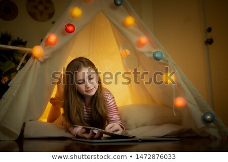 Indoor Camp Tent Toys Stock photo © lenm