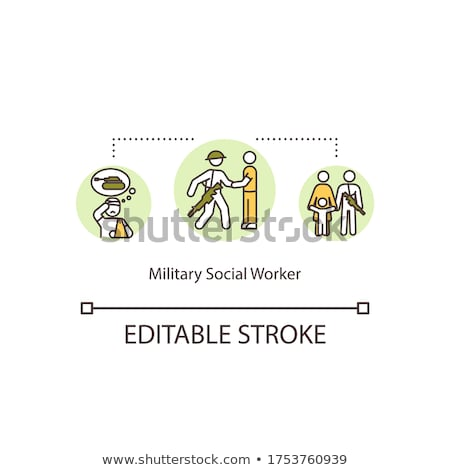 Military Issues Concept Stock photo © Lightsource