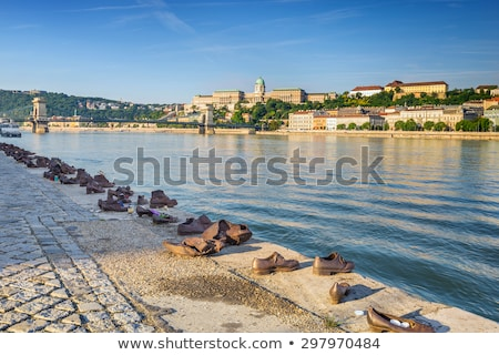 donau · rivieroever · steen · canyon · Servië · Blauw - stockfoto © givaga