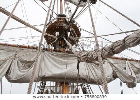 Tall ship rigging Stock photo © 5xinc