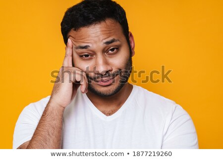 Displeased Man Touching His Head Stock photo © AndreyPopov