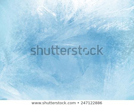 textúra · absztrakt · tél · közelkép · hó · háttér - stock fotó © kotenko