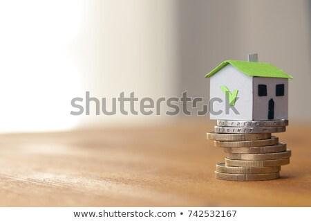 Munt euro calculator geld financieren Stockfoto © Zerbor